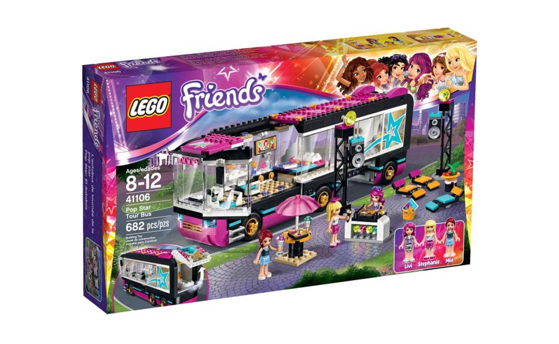 LEGO Friends Автобусний тур поп-зірки (41106)