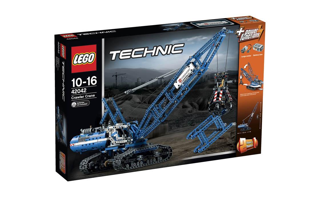 LEGO Technic Гусеничний кран (42042)