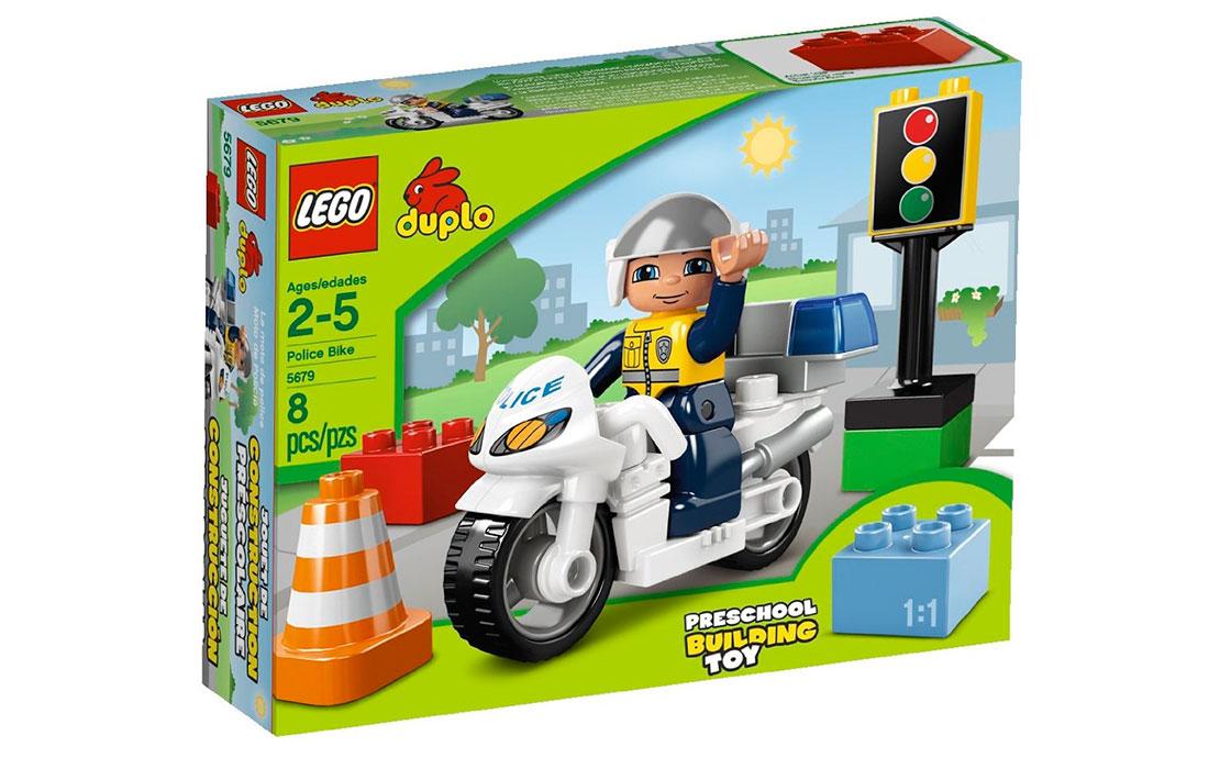 LEGO DUPLO Полицейский мотоцикл (5679)
