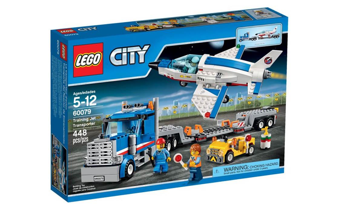 LEGO City Перевізник тренувального літака (60079)