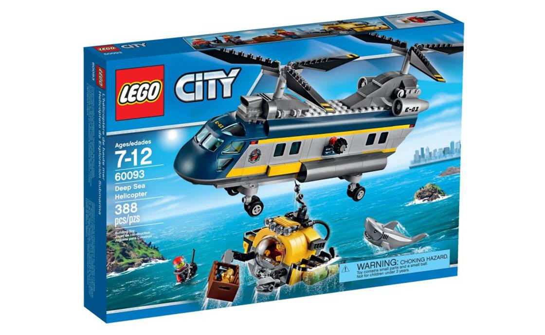 LEGO City Вертолёт глубоководных исследователей (60093)