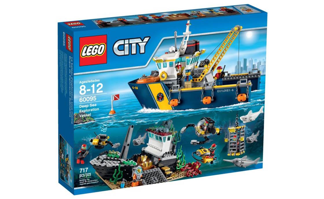 LEGO City Корабль для глубоководных экспедиций (60095)