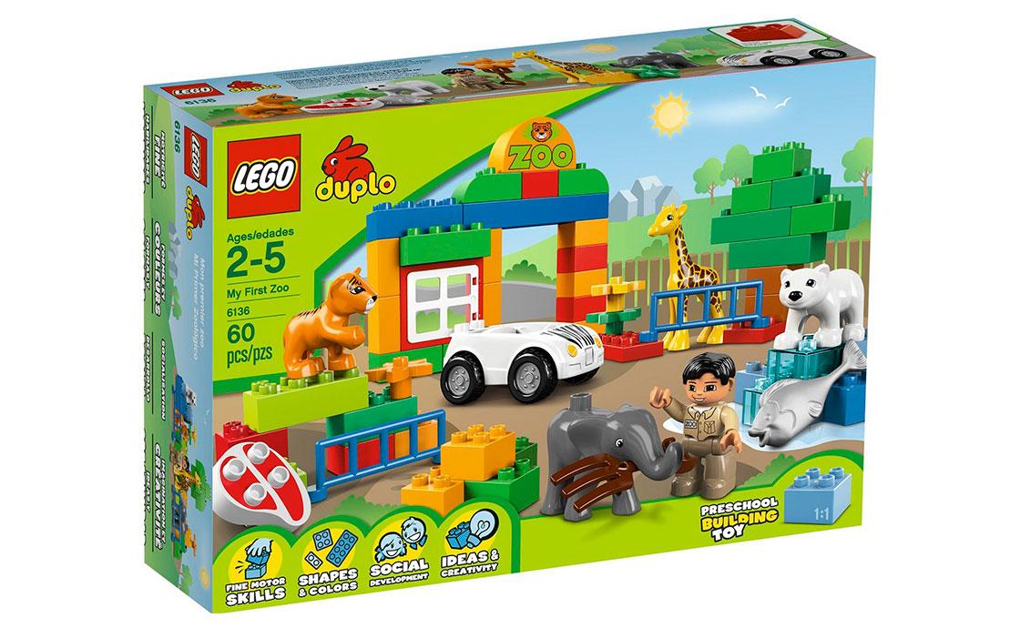 LEGO DUPLO Мой первый зоопарк (6136)