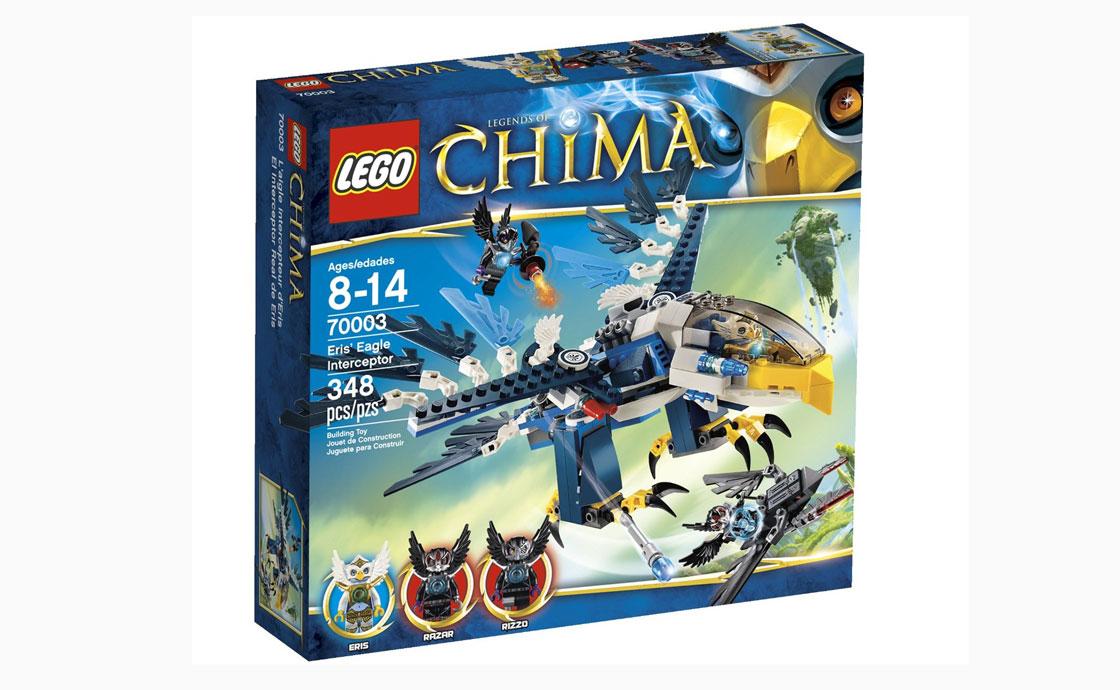 LEGO Legends Of Chima Перехватчик Орлицы Эрис (70003)