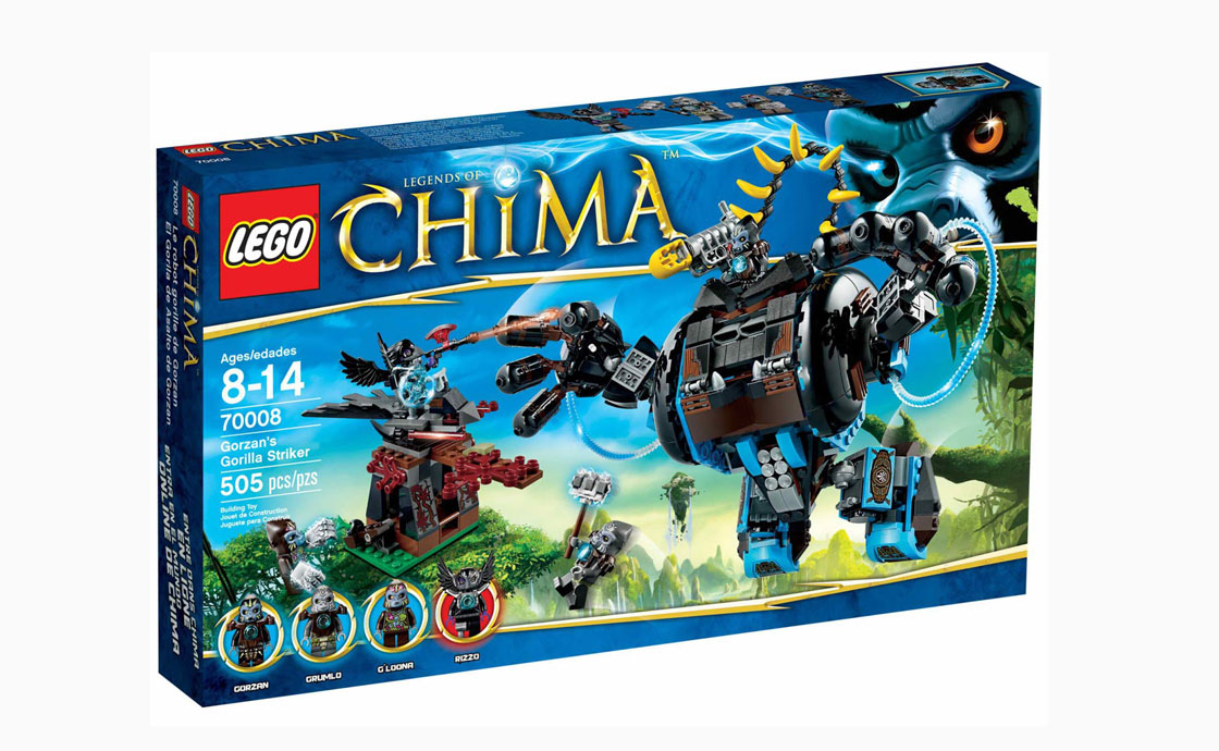 LEGO Legends Of Chima Боевая машина Горзана (70008)