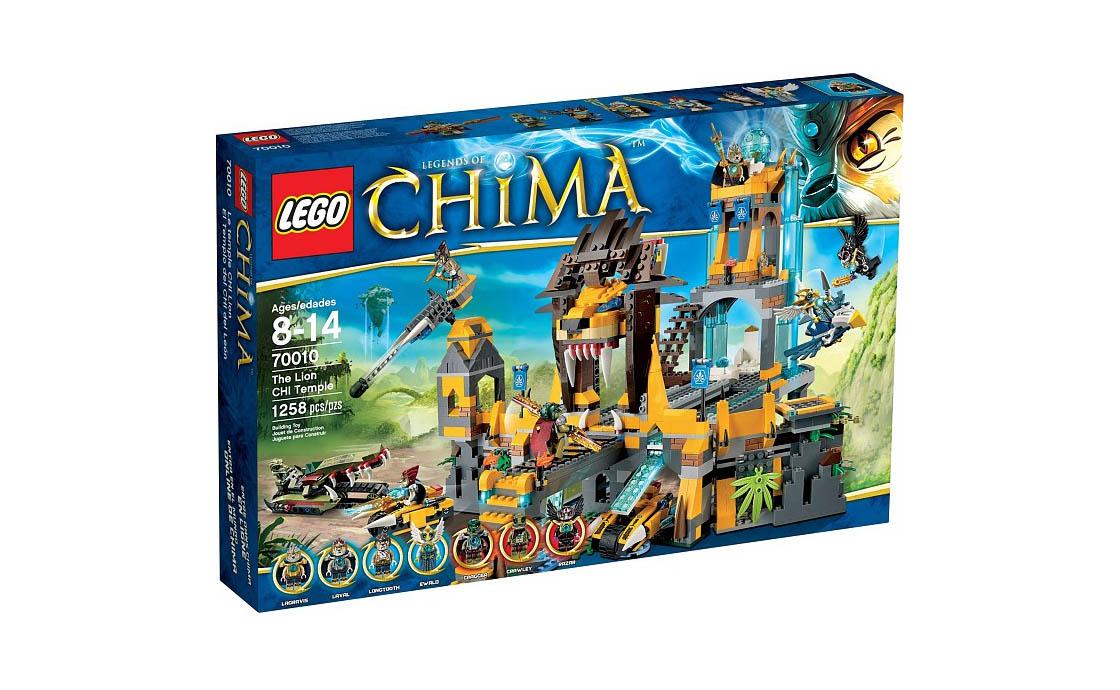 LEGO Legends Of Chima Львиный храм Чи (70010)