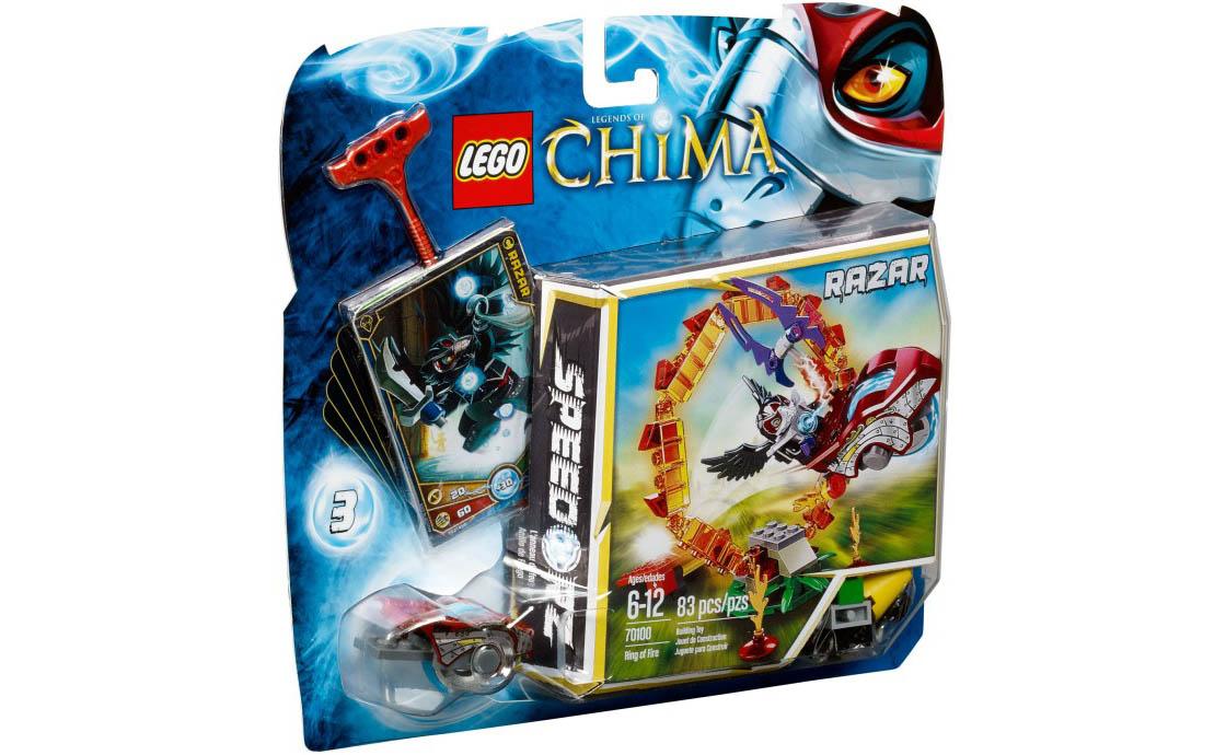 LEGO Legends Of Chima Кольцо огня (70100)