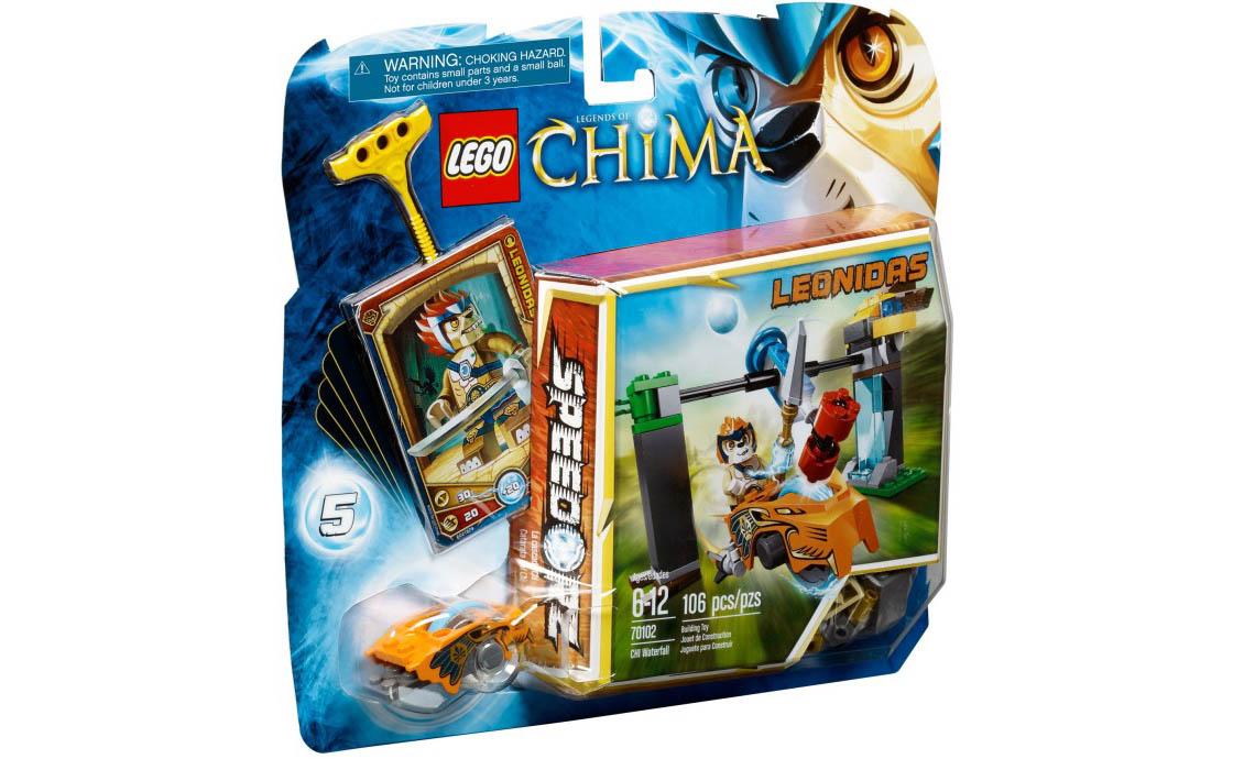 LEGO Legends Of Chima Водопад Чи (70102)