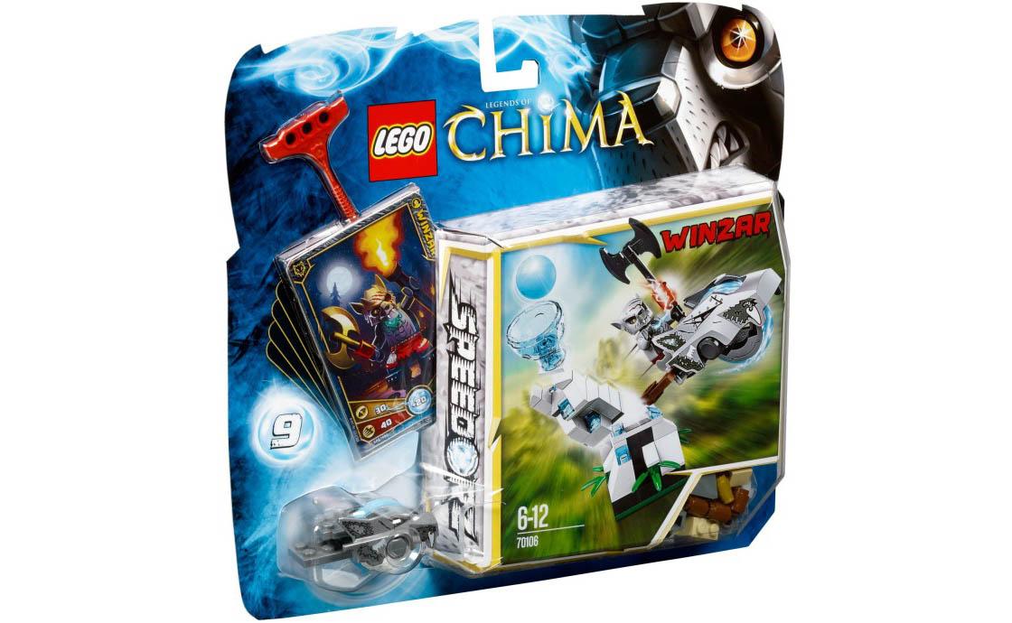 LEGO Legends Of Chima Ледяная башня (70106)