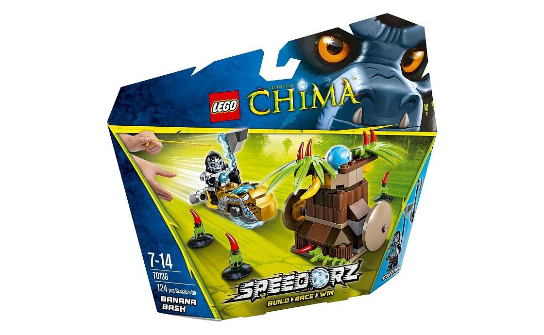 LEGO Legends Of Chima Банановый удар (70136)