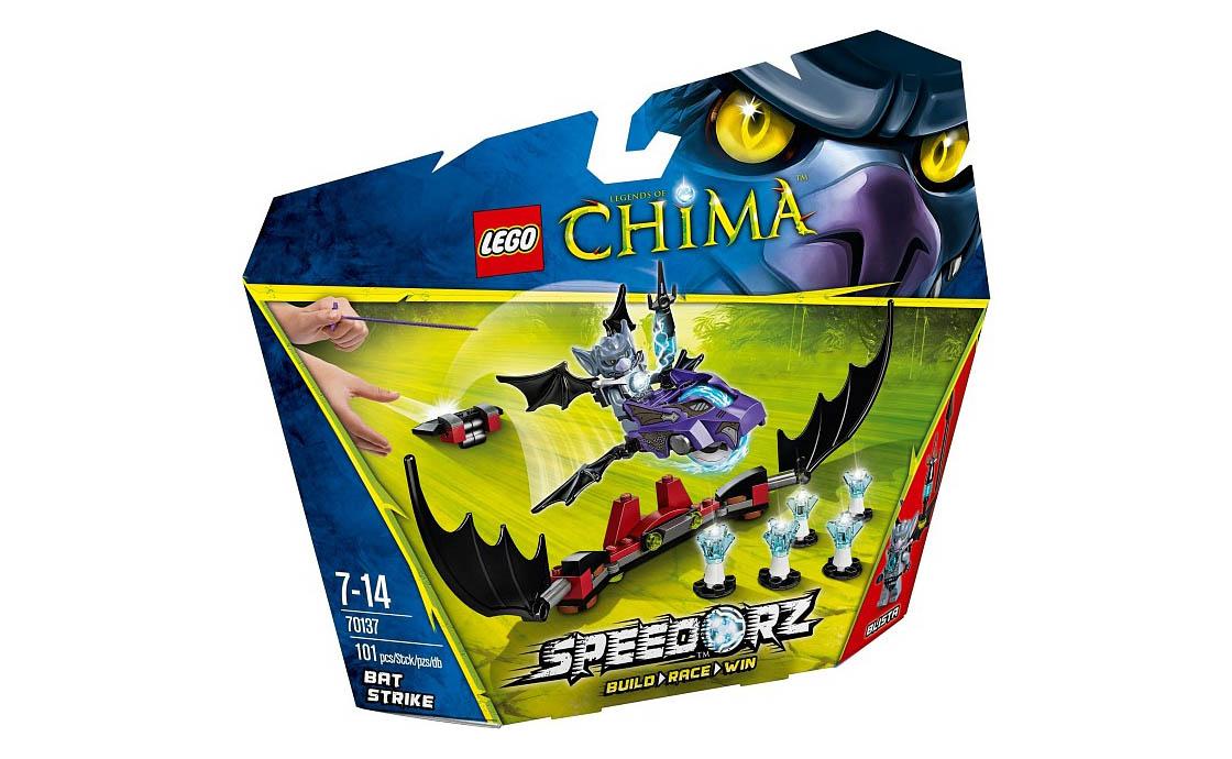 LEGO Legends Of Chima Удар летучей мыши (70137)