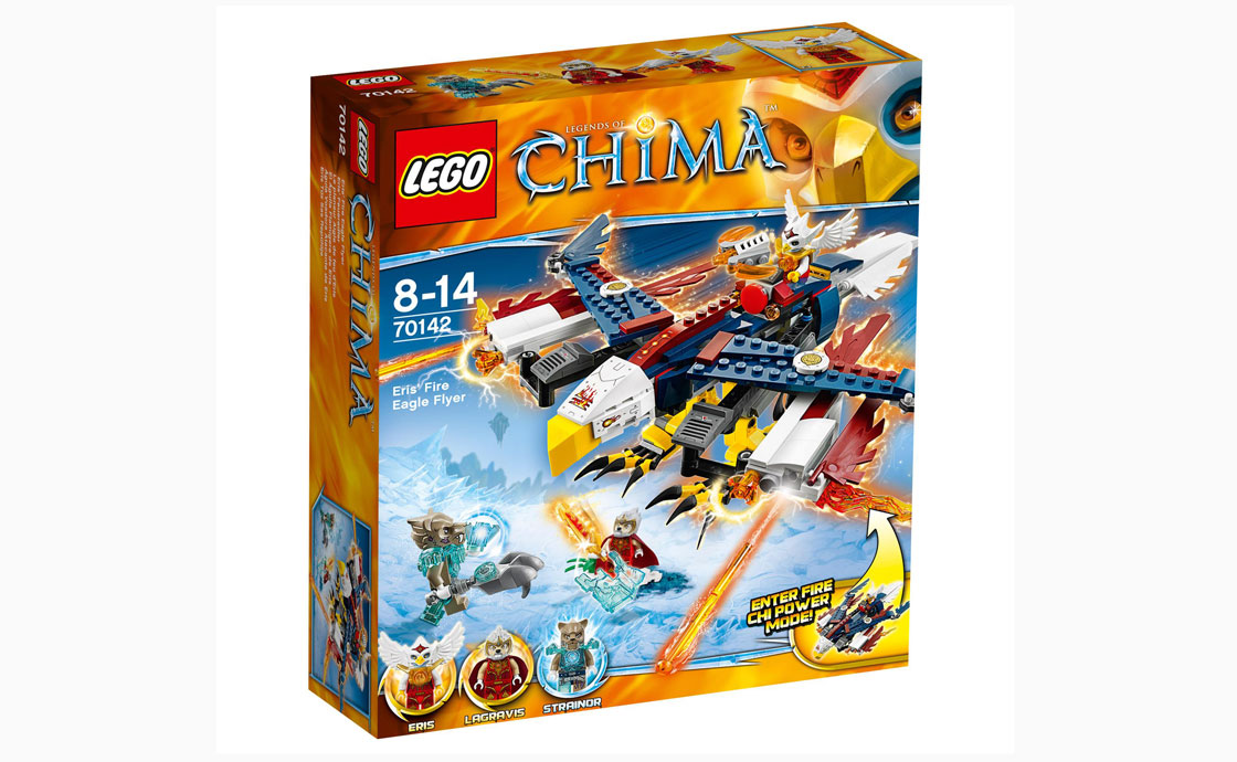 LEGO Legends Of Chima Летающий орёл Эрис (70142)