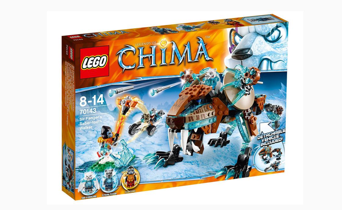 LEGO Legends Of Chima Нападение Сэра Фангара (70143)