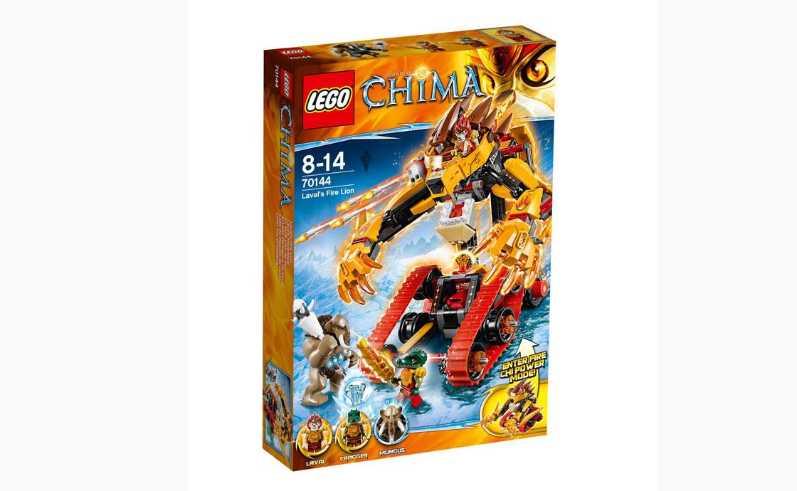 LEGO Legends Of Chima Огненный лев Лавала (70144)