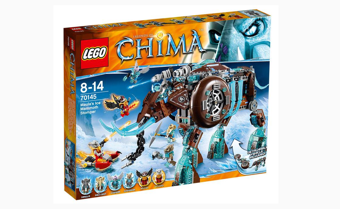 LEGO Legends Of Chima Ледяной Мамонт-шагоход (70145)