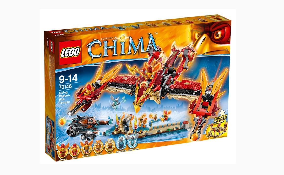 LEGO Legends Of Chima Храм огня - Летающий Феникс (70146)