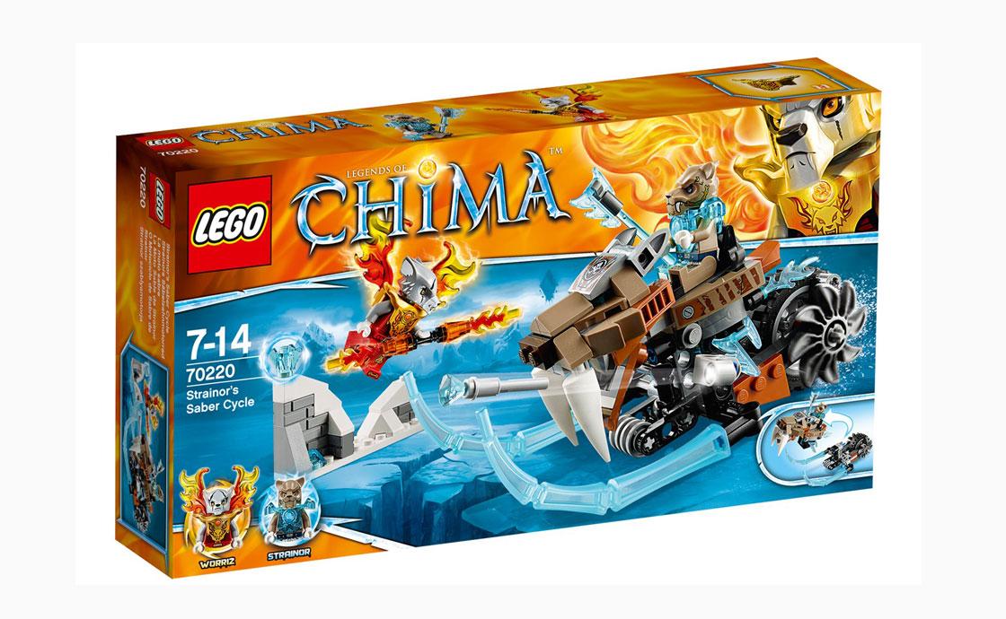 LEGO Legends Of Chima Киберцикл Стрэйнора (70220)