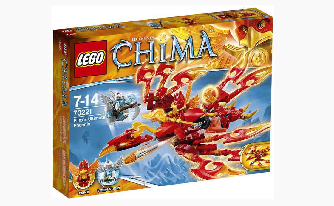 LEGO Legends Of Chima Удивительный Феникс Флинкса (70221)