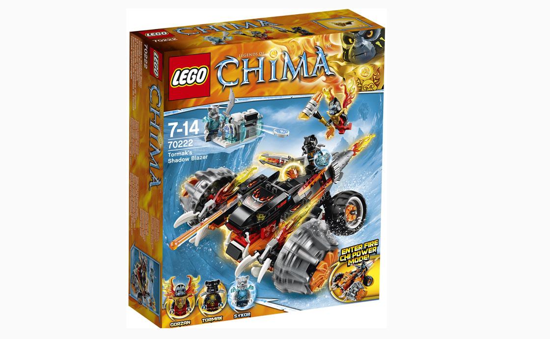 LEGO Legends Of Chima Теневой блейзер Тормака (70222)