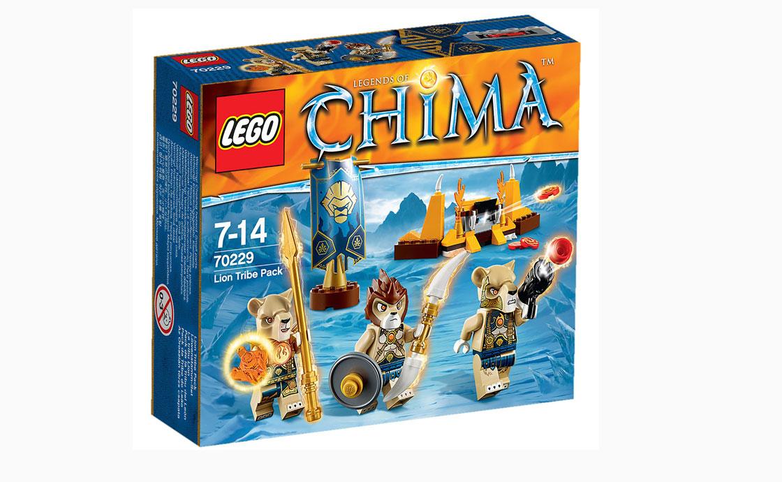 LEGO Legends Of Chima Пак племени Львов (70229)