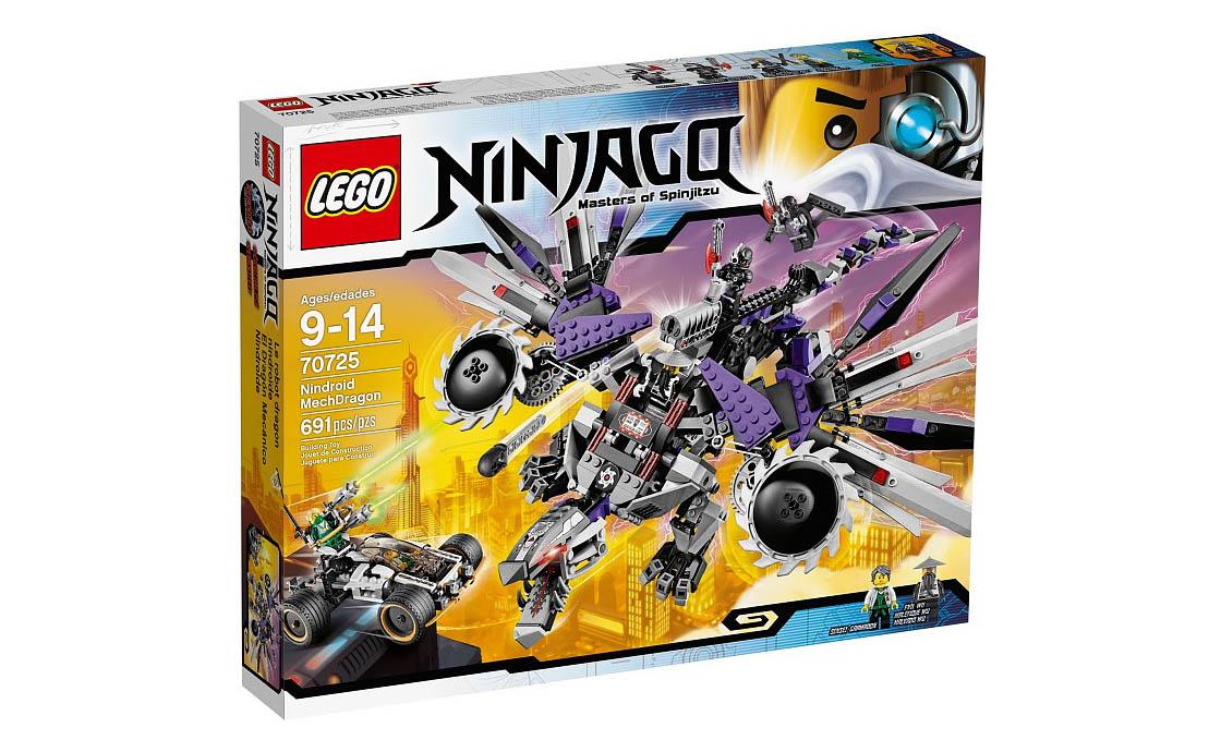 LEGO NINJAGO Дракон Ниндроид (70725)