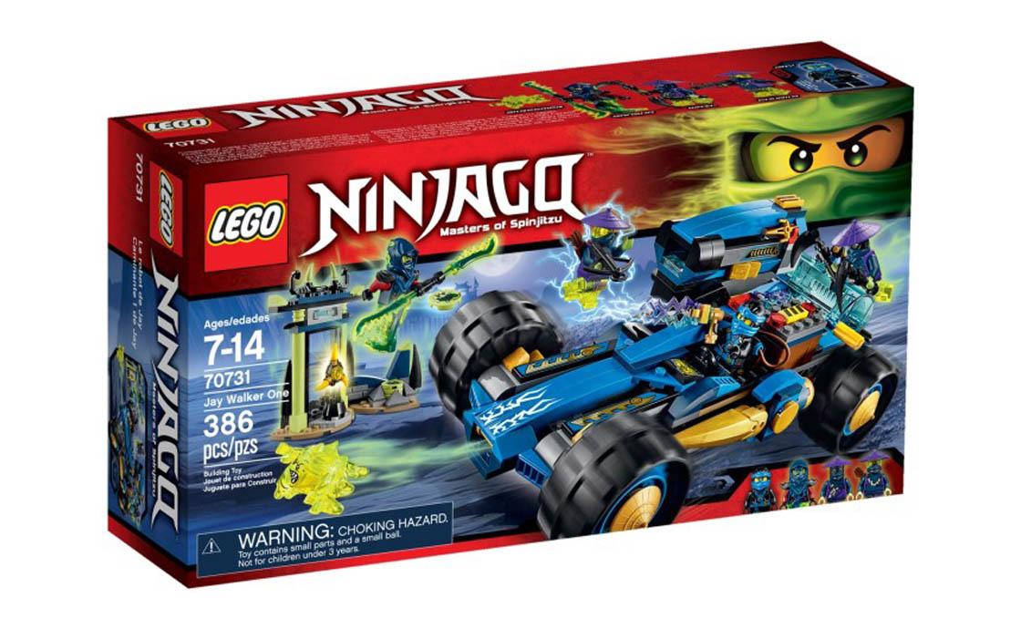 LEGO NINJAGO Джей Уолкер (70731)