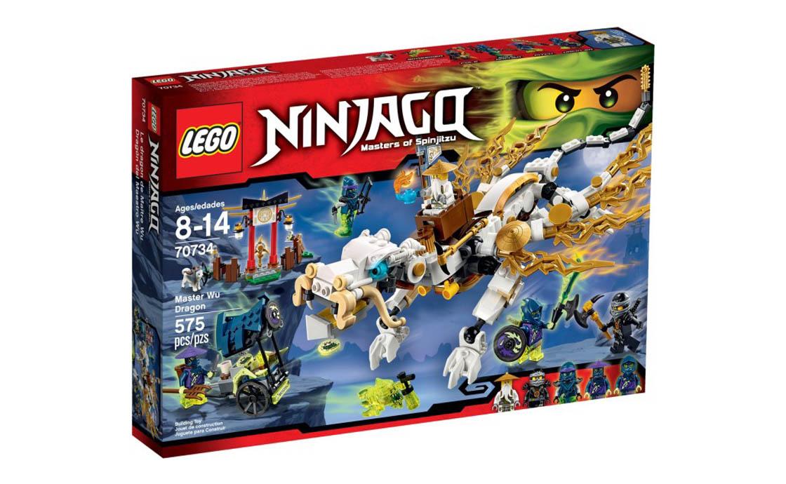 LEGO NINJAGO Дракон Мастера Ву (70734)