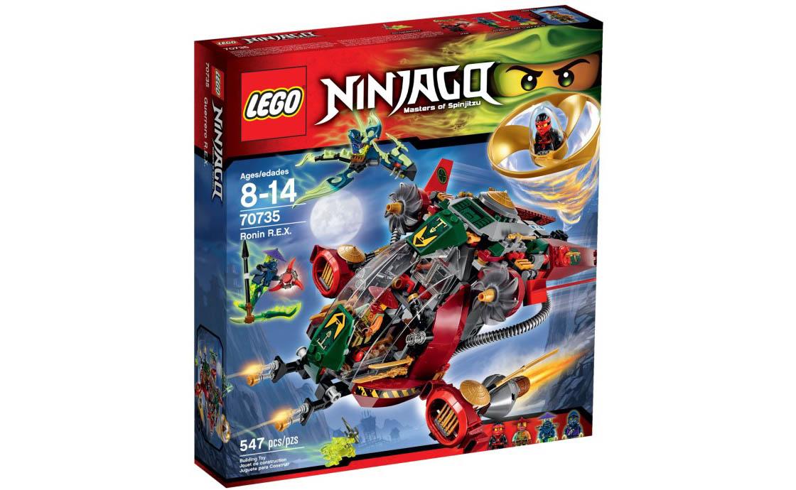 LEGO NINJAGO Ронін РЕКС (70735)