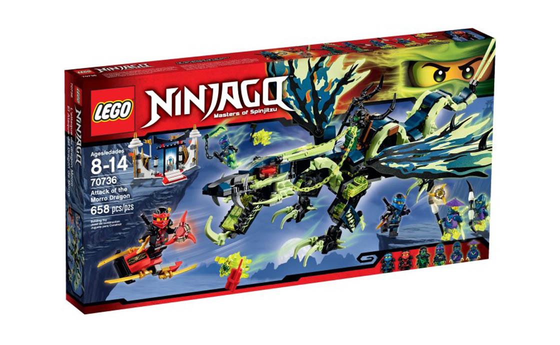 LEGO NINJAGO Атака дракона Моро (70736)