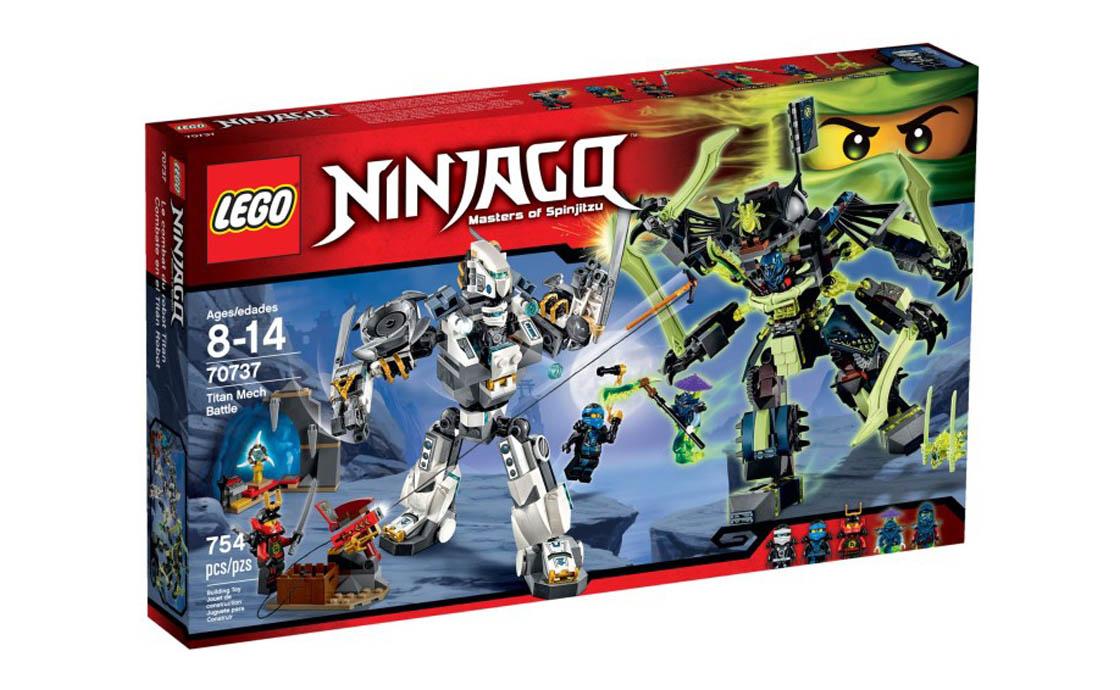 LEGO NINJAGO Бій механічних титанів (70737)