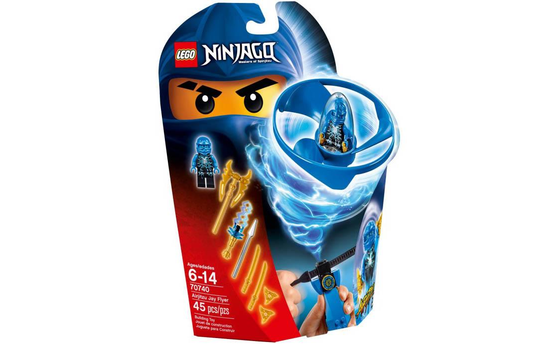 LEGO NINJAGO Аероджітсу Джея (70740)