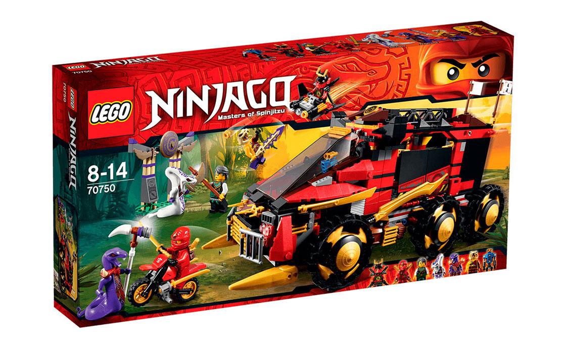 "LEGO NINJAGO Ниндзя ""DB X"" (70750)"