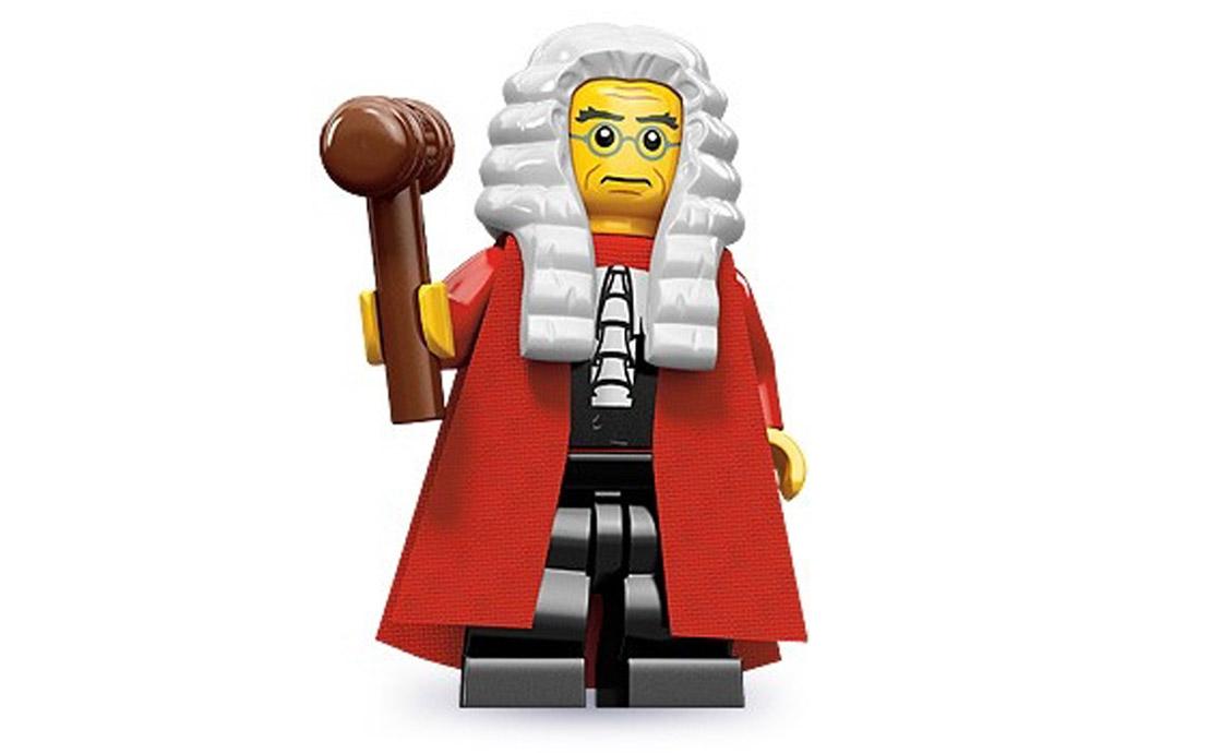 LEGO Minifigures Судья (71000-10)