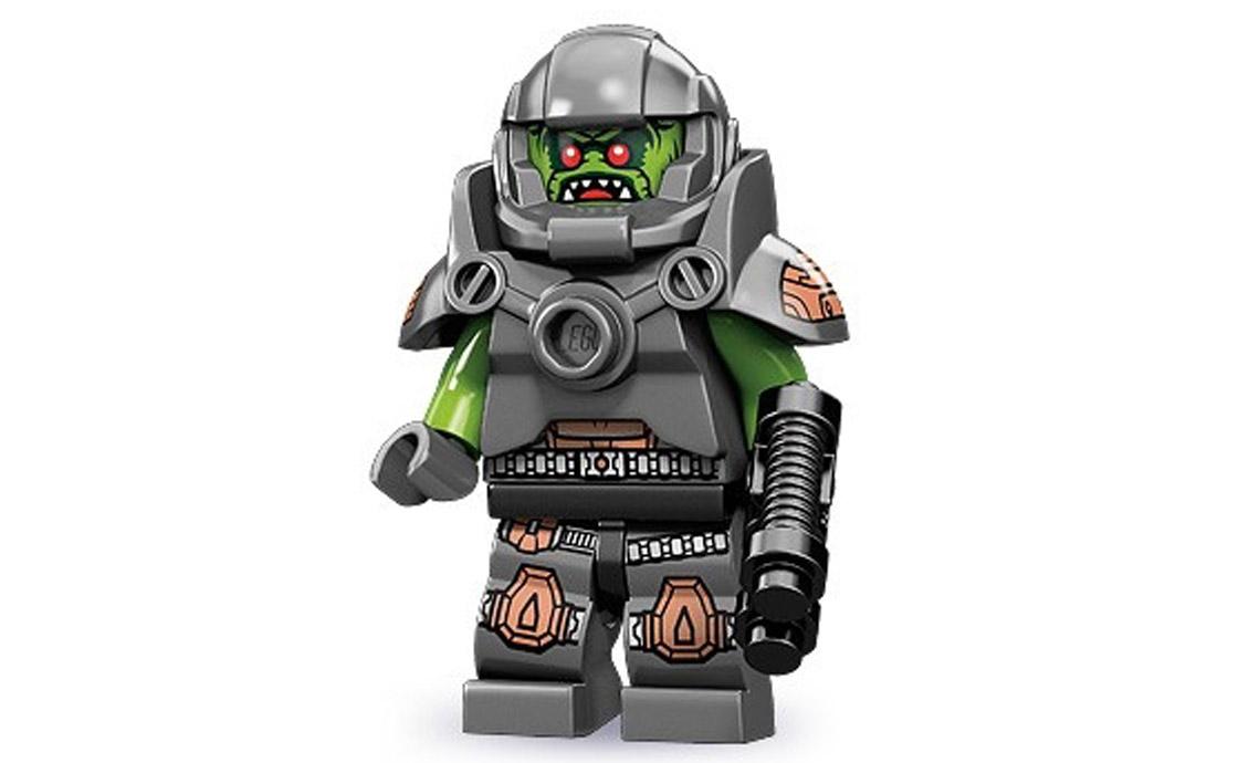 LEGO Minifigures Инопланетный мститель (71000-11)
