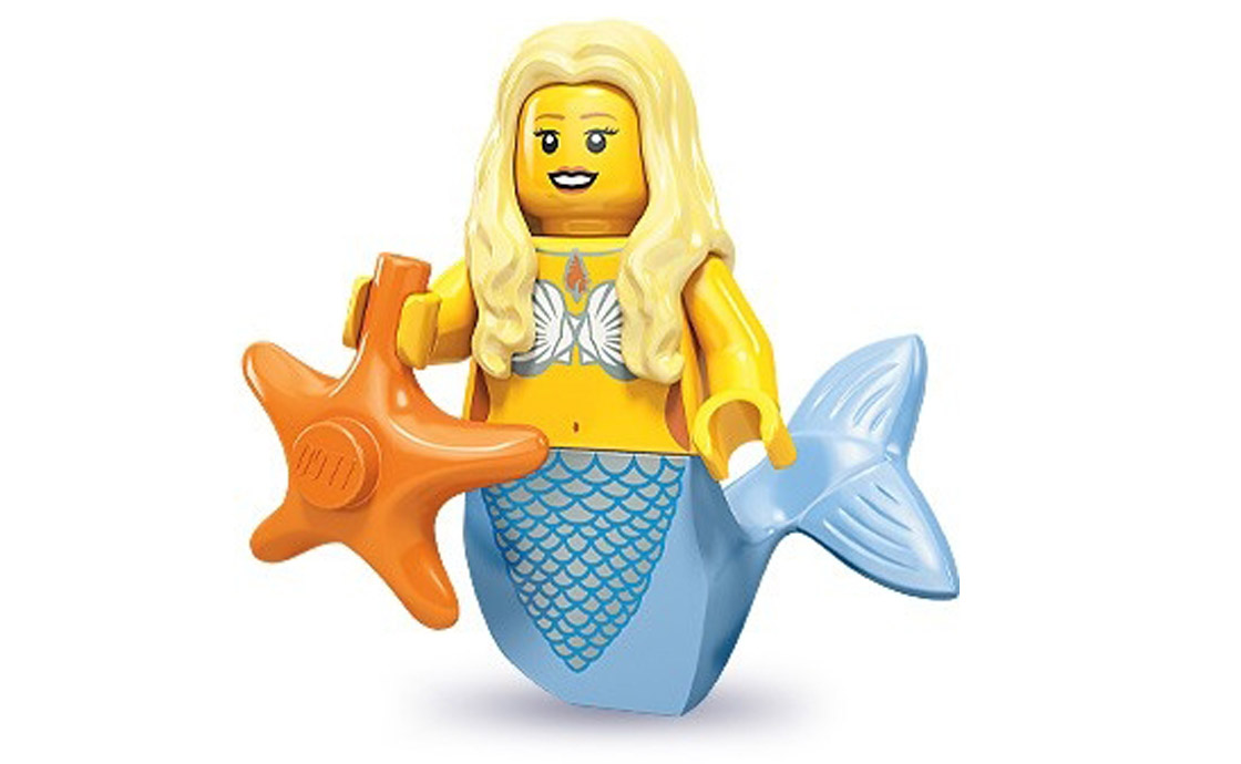 LEGO Minifigures Русалка (71000-12)