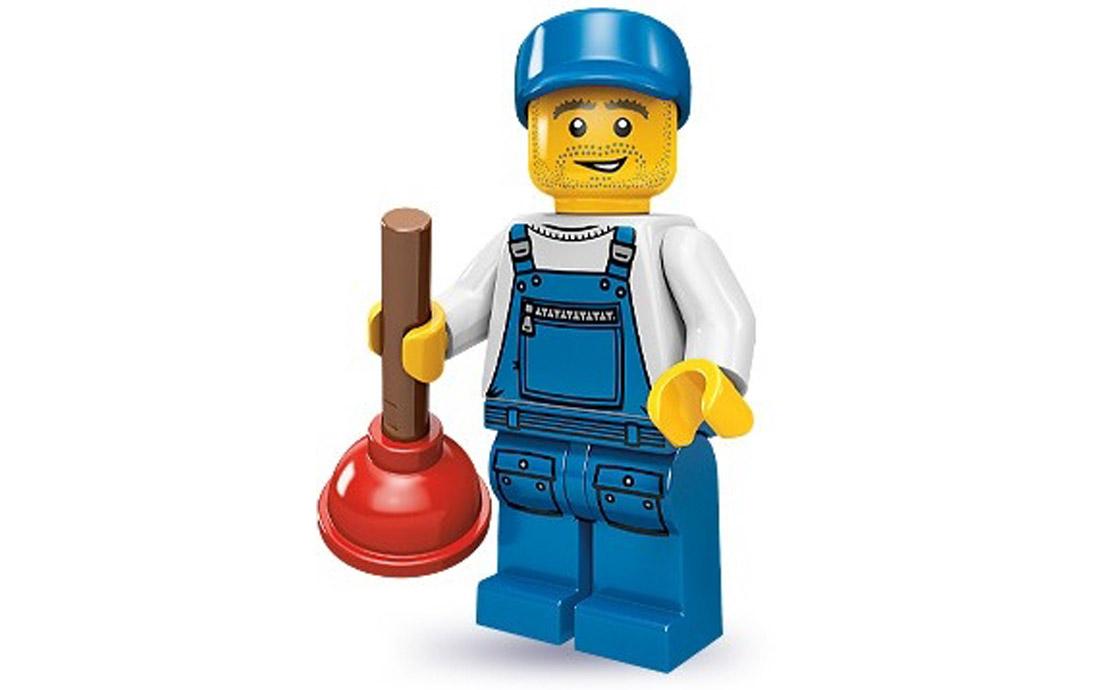 LEGO Minifigures Водопроводчик (71000-16)
