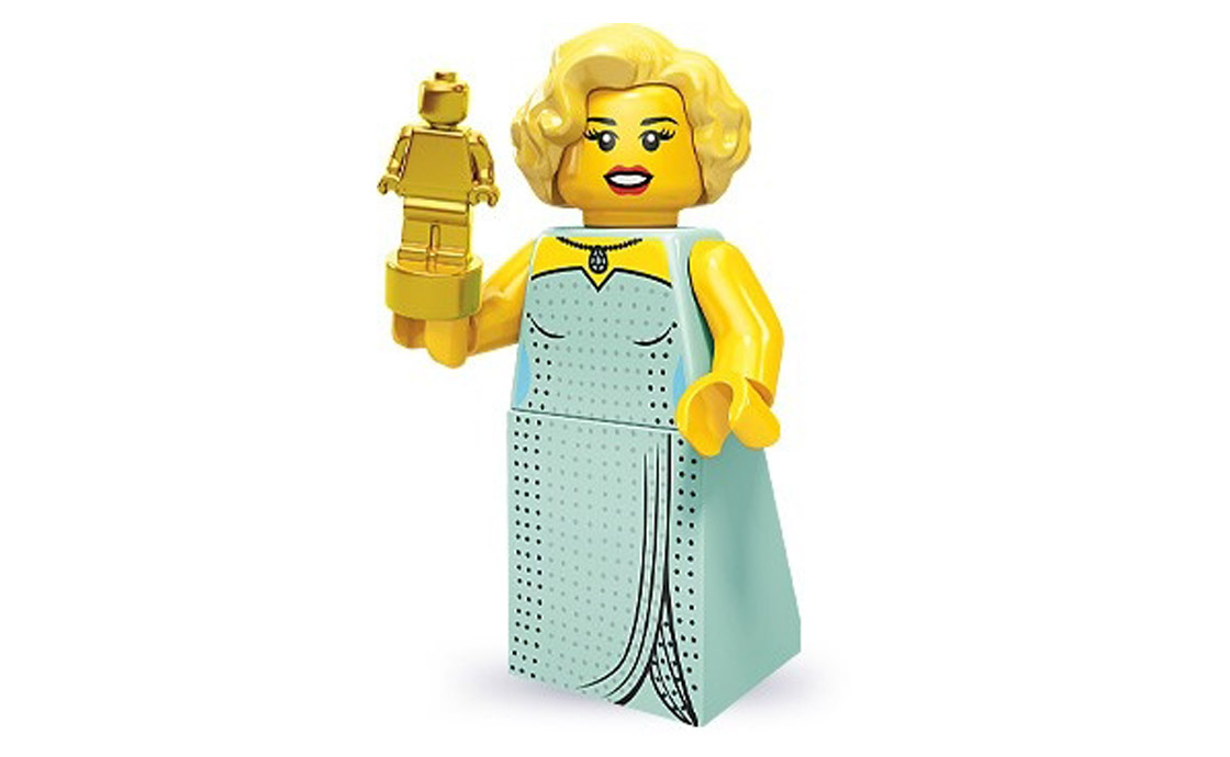LEGO Minifigures Голливудская звезда (71000-3)