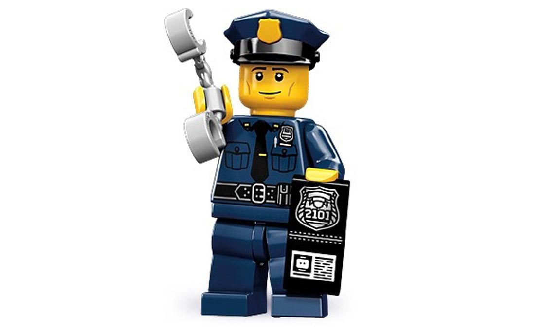LEGO Minifigures Полицейский (71000-6)