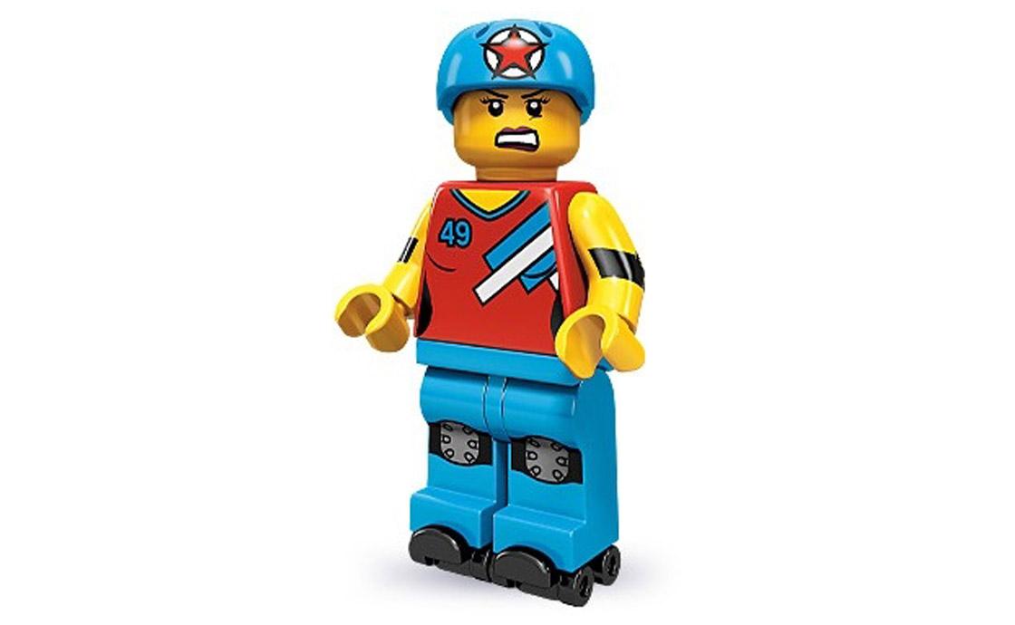 LEGO Minifigures Девочка на роликах (71000-8)
