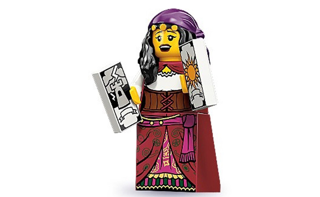 LEGO Minifigures Гадалка (71000-9)