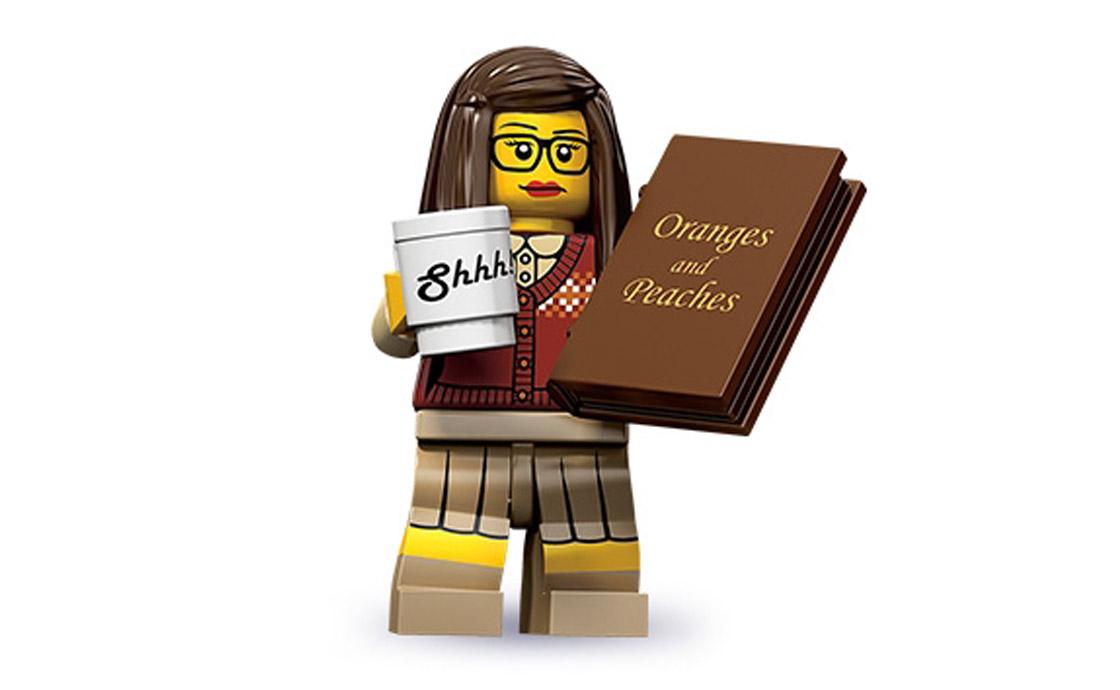 LEGO Minifigures Библиотекарь (71001-1)