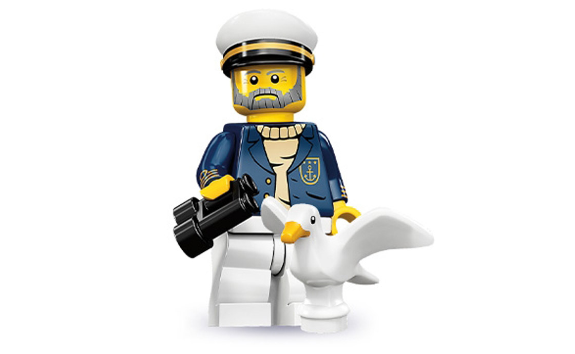 LEGO Minifigures Морской капитан (71001-10)