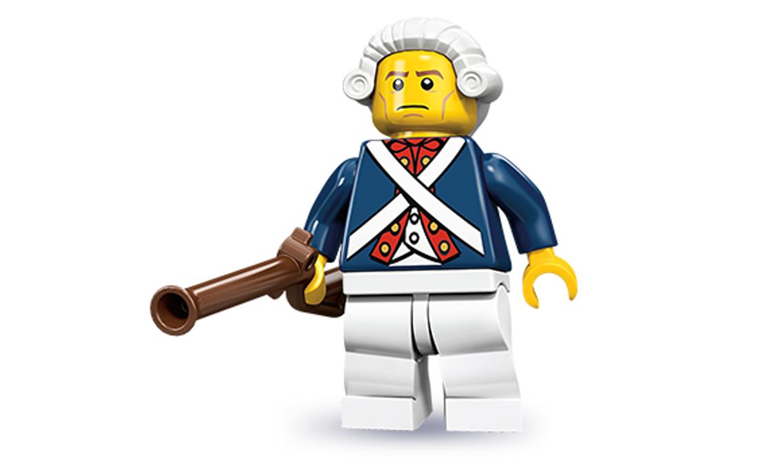 LEGO Minifigures Революционер (71001-12)