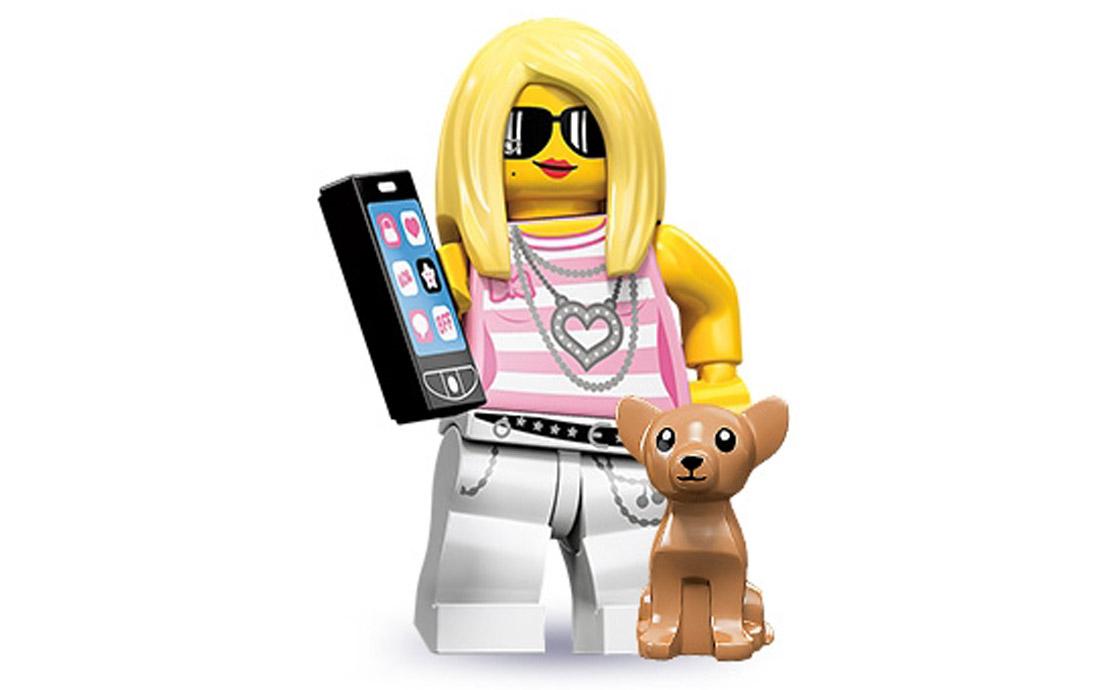 LEGO Minifigures Модница (71001-14)