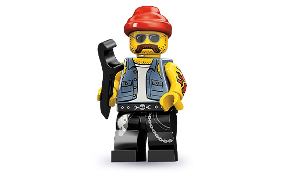LEGO Minifigures Крутой механик (71001-16)