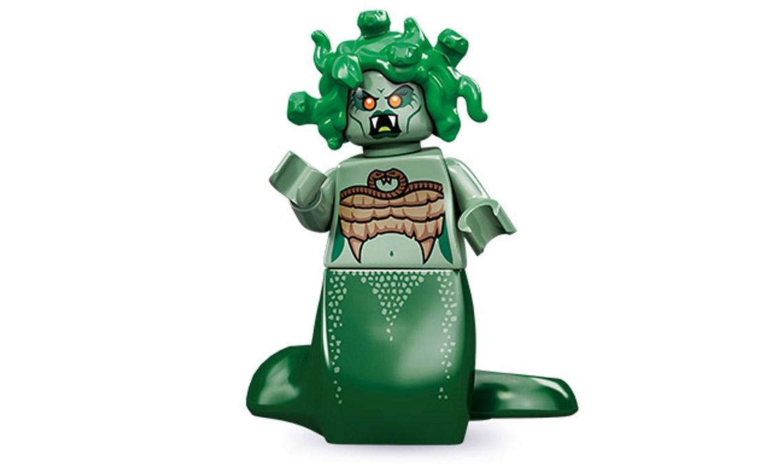 LEGO Minifigures Медуза Горгона (71001-2)