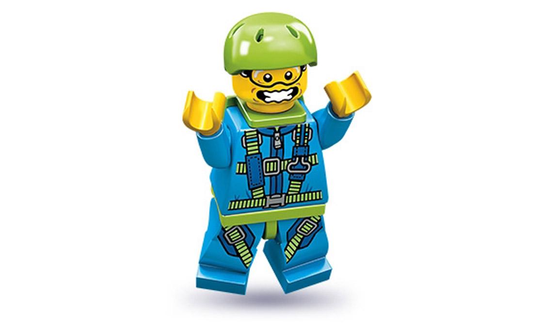 LEGO Minifigures Парашютист (71001-6)