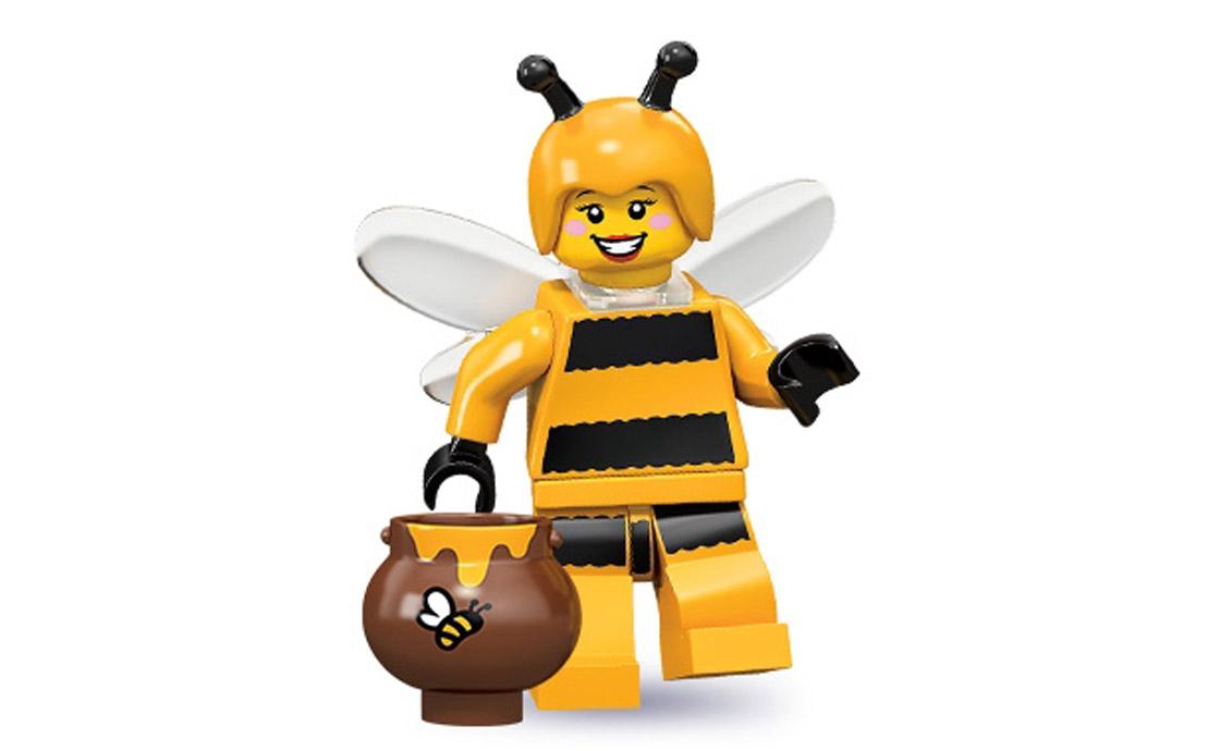 LEGO Minifigures Девочка-пчела (71001-7)