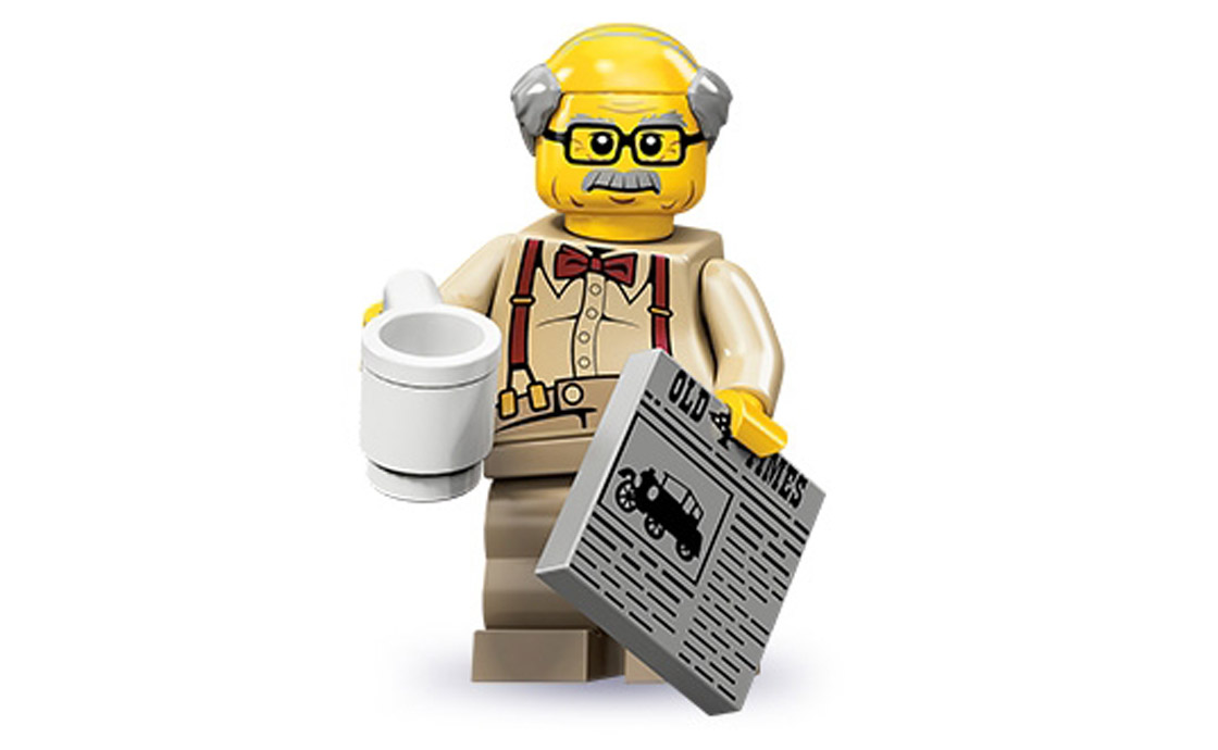 LEGO Minifigures Дедушка (71001-8)
