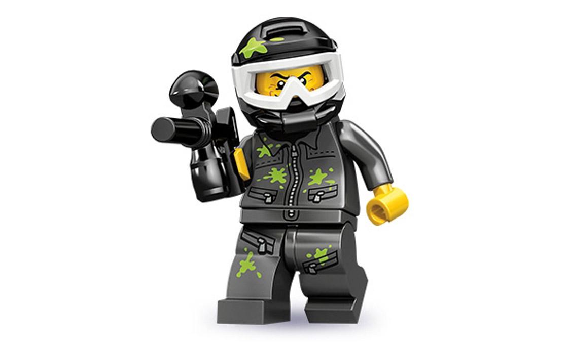 LEGO Minifigures Игрок в пейнтбол (71001-9)